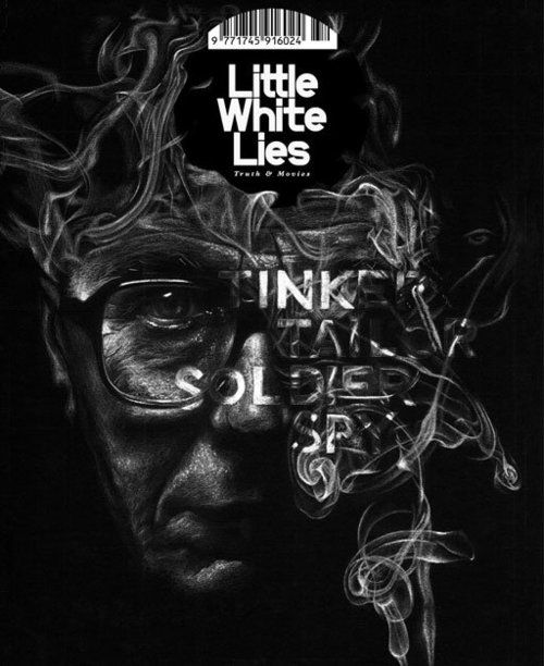 Graphic design inspiration - Little White Lies - Tinker Tailor Soldier Spy