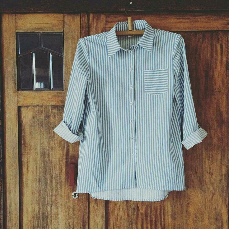 Купить Женская рубашка из хлопка - женская одежда, женская рубашка, дизайнерская одежда, хлопок