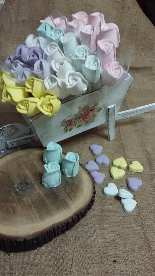 #kokulutaş #vintage #decoration #dekoratif #scentedstone #scentedclay #güller #rose #flowers