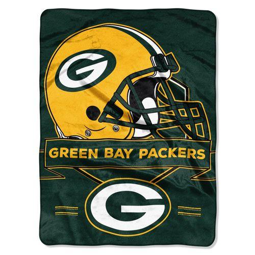 Green Bay Packers Blanket 60x80 Raschel Prestige Design