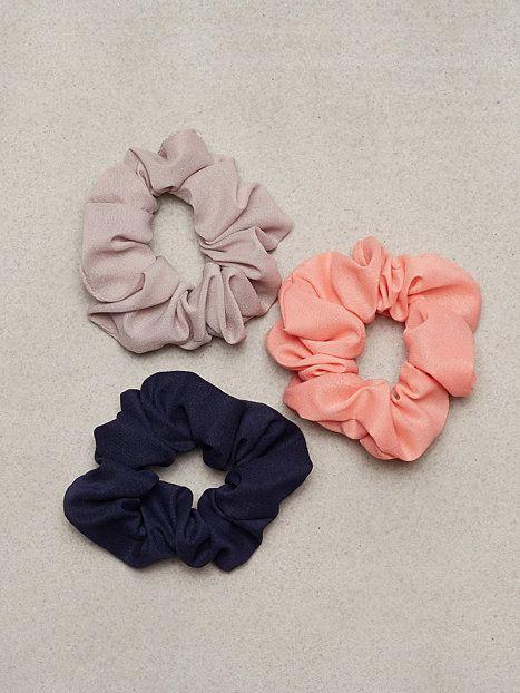 Chiffon Scrunchie 3-pack