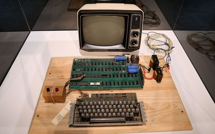 El Apple-1 construido en 1976