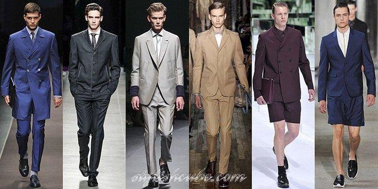 Длинный мужской пиджак до колен