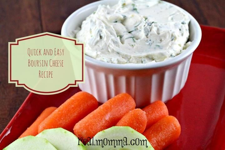 Quick and Easy Boursin Cheese Spread Recipe