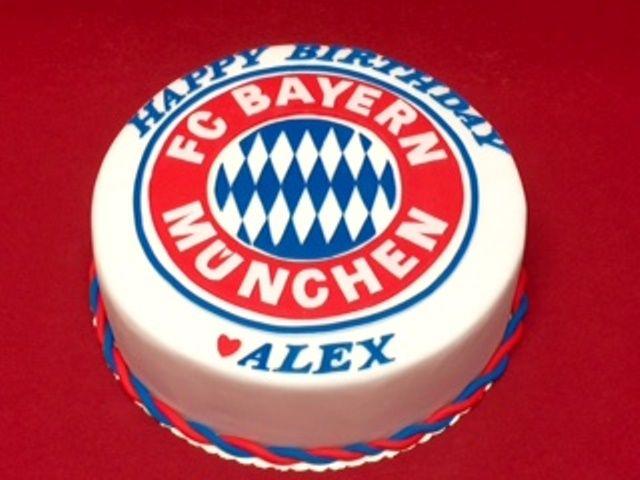 FC Bayern München- Torte