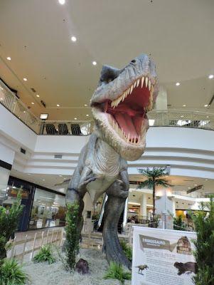 Últimos dias da mostra Mundo Jurássico no Shopping D | Jornalwebdigital