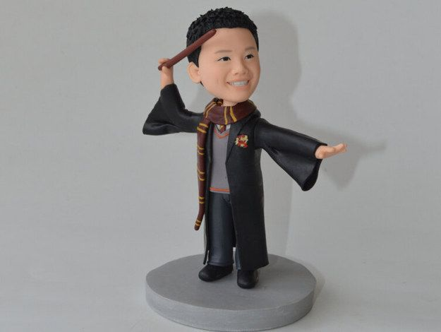 Custom Hogwarts Bobble Head - for anyone who wishes they could go to Hogwarts.