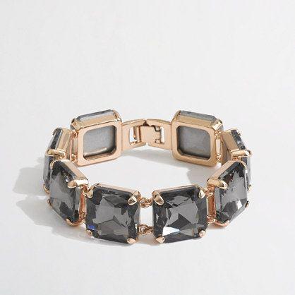 J.Crew Factory - Factory square stone bracelet