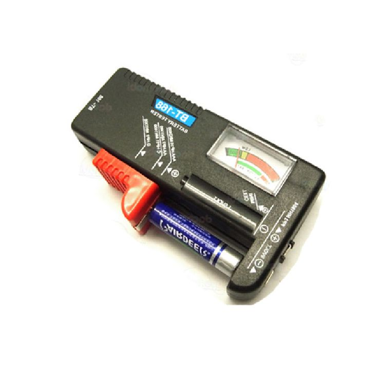 Universal Battery Tester Checker AA AAA 9V Button S7NF