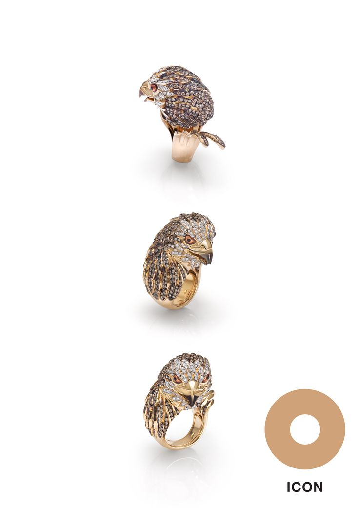 Eagle #ring by #Angry
