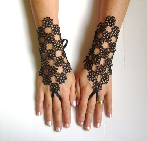 154 best images about breathtaking hand inspirations on for Lace glove tattoo