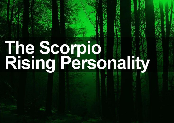 Scorpio rising dating scorpio sun