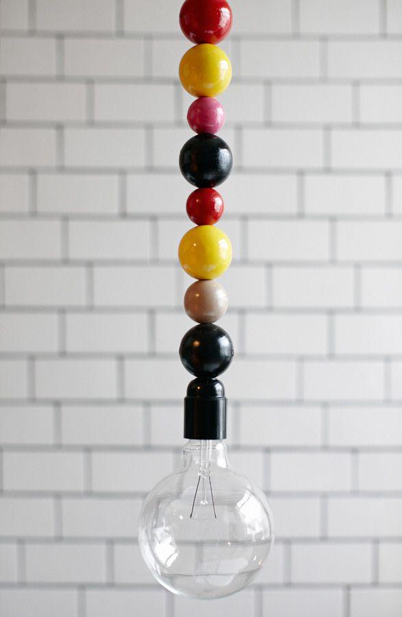 Lightlace by dottirandsonur: So cute for a nursery. #Lighting #dottirandsonur