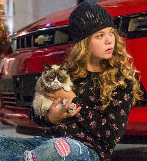 Grumpy Cat filminden ilk fragman yayınlandı