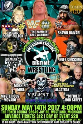 Violent J Set to Wrestling at Upcoming International Bigtime Wrestling Event   Rude Boy has made a devastating announcement! Violent J will once again hop into the squared circle and show off his impressive wrestling skills.  On Sunday May 14th Violent J will battle Officer Rod Street. The show is taking place at the Token Lounge in Westland Michigan.  Check out the flyer below to find out who else is scheduled to be at this show.  from Faygoluvers http://ift.tt/2o7qkKh Music