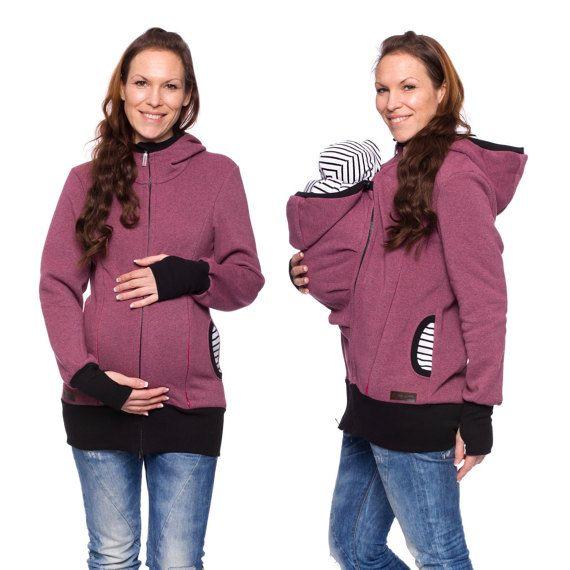 Deze 3 in 1 baby dragen jasjes uit geborsteld Sweatshirt is een comfortabele moederschap jas tijdens de zwangerschap, de babys dracht periode en later dan normaal te sturen casual jas. Super praktisch, stijlvol en gezellig voor u en uw baby!  De goed-gedachte-uit-ontwerp kunt u snel en nemen uit het jasje met baby. De openingen met de koorden en dus de grootte van uw kind kunt u gemakkelijk aanpassen.  Een geweldig cadeau om de geboorte of de baby douche partij!  ♥ voor de uitvoering van de…