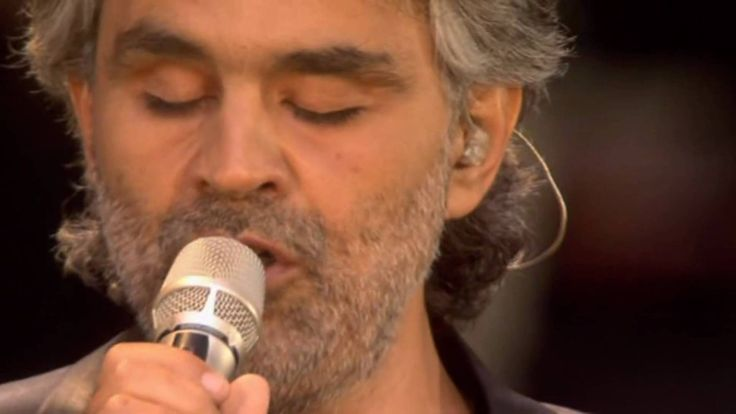 Andrea Bocelli - The Music of the Night I was watching this video and at 4:32 they show William and Henry in the audience!!!  How awesome is that?