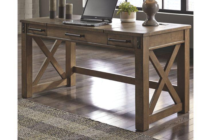 Aldwin Home Office Desk Ashley Furniture Homestore Home Office Furniture Desk Home Office Desks Home Office Design