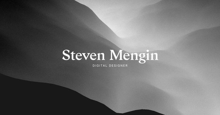 https://stevenmengin.com/ Digital designer in London