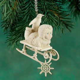 "Department 56: COLLECTING - ""Nine Sledders Sledding"" Ornament - Snowbabies™ Retirements"