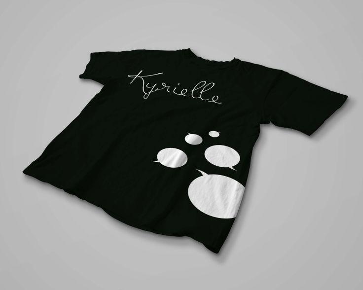 T-shirt Kyrielle Noir