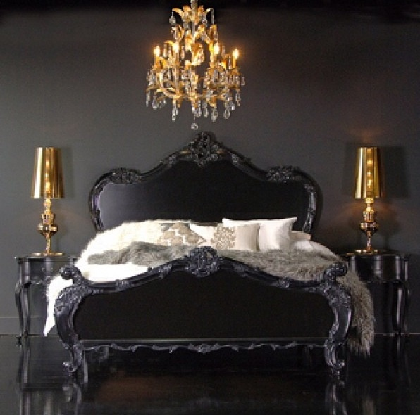 1000 ideas about dark romantic bedroom on pinterest for Black and white romantic bedroom ideas