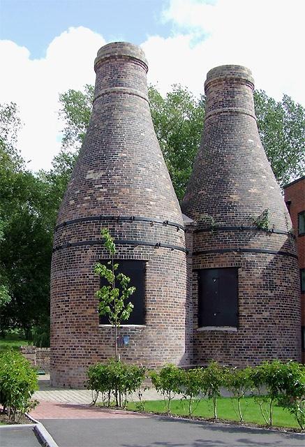 Restored Bottle Kilns at Stoke-On-Trent
