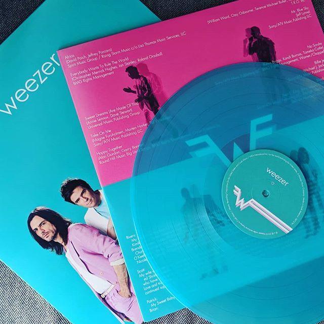 Weezer   Teal Album #Teal Transparent Vinyl   Music × Vinyl
