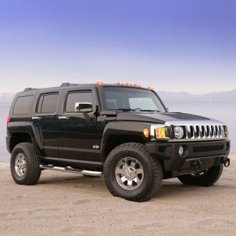 "A black Hummer H3, the vehicle my heroine Cecile drives.   ""Kaidan's vehicle"""