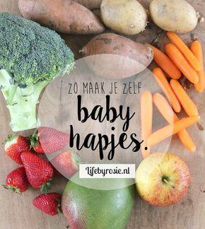 Zelf baby hapjes maken. Als je baby de 4 maanden gepasseerd is mag je hapjes gaan geven. Hoe je deze zelf maakt leg ik je uit