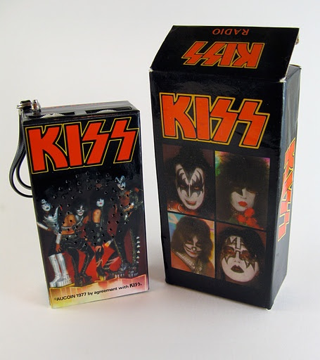 KISS AM Radio (1977) - I owned one of these back in the day.