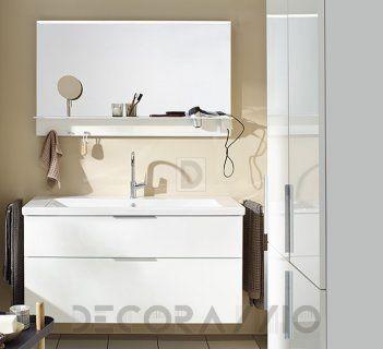 #bathroom #furniture #interior #design #interiordesign #designideas  комплект в ванную Burgbad Eqio, SEYQ123/HSFB035/SEZQ120