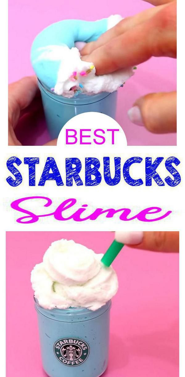 Amazing Starbucks Frappuccino Slime You Will Want To Make Today