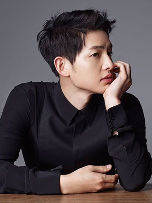 Song Joong Ki - Harper's Bazaar China Spreads
