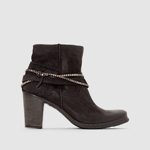 Boots cuir MJUS URLO MJUS