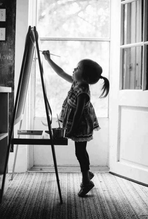 The child inside your heart I want..no, I NEED to start painting again.