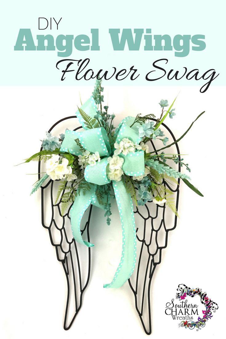 20 best Angel Wings Decor images on Pinterest   Diy angel wings ...