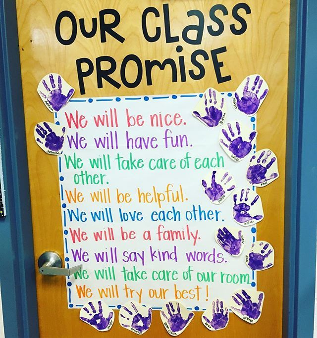 This year's sweeties came up with the most precious class promise for our year ❤️ #iteachk #bts2016 #teachersfollowteachers