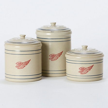 Terrain Red Wing Stoneware Canisters  #shopterrain