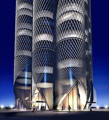 Skidmore Owings & Merrill - Acropoleis - Dubai