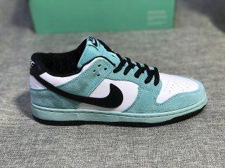 92ae544dfd3e Mens Womens Skate Shoes Nike SB Dunk Low Pro Ishod Wair Green Glow Black  Summit White