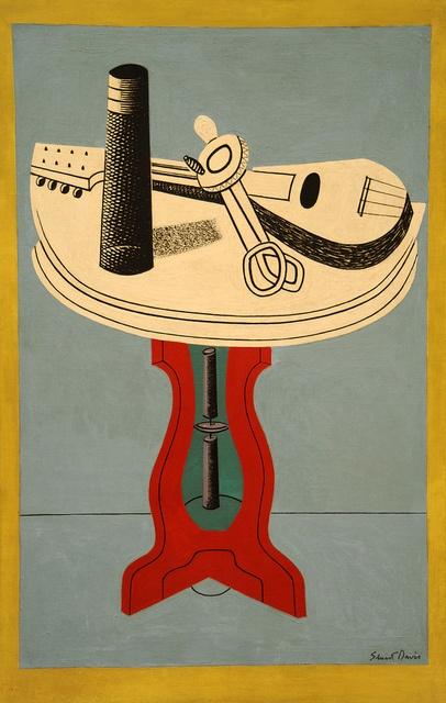 Stuart Davis. Egg Beater, V. 1930. MoMA, NYC by renzodionigi, via Flickr