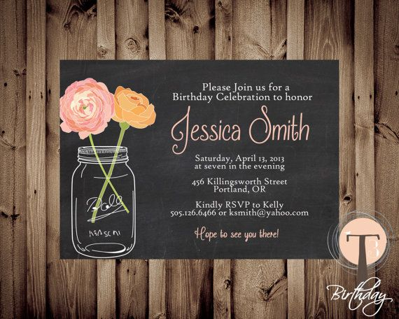 17 Best images about birthday invitations on Pinterest | Birthdays ...