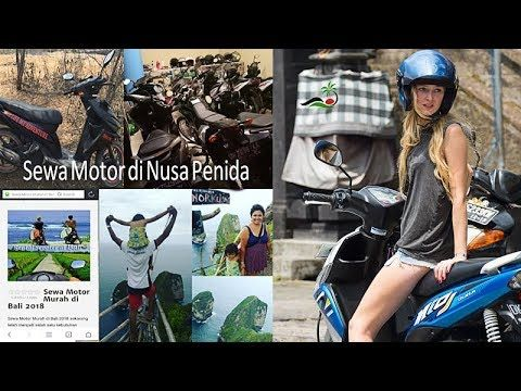 Nusa penida scooter hire or rent motorbike in bali nusa penida