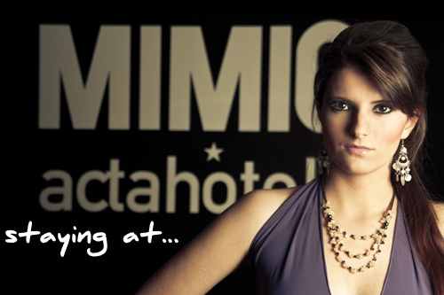 Virtual Model en el Hotel Mimic  #model #session #photo #hotel