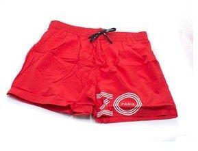 Kenzo Mens Red Bathing Suit Swim Shorts Paris.