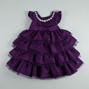 You know, for when Josh and Roni have another little girl she can wear this at my wedding! :)