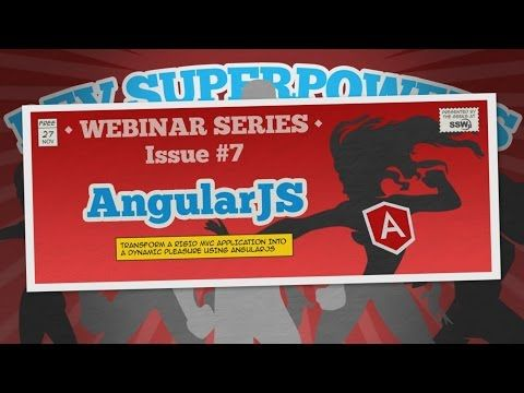How to make web applications with AngularJS and ASP.NET MVC | Dev SuperPowers Episode #7 | Ben Cull - YouTube