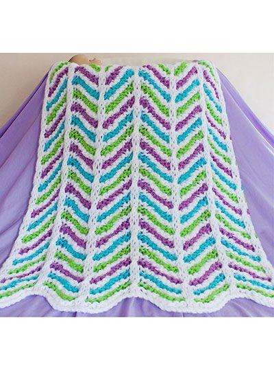 Knitting Pattern Central Baby Blankets : 31 best images about Knitting Baby Blanket Pattern Downloads on Pinterest