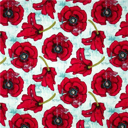 poppy print fabric - photo #3